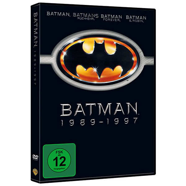 DVD Batman 1 - 4