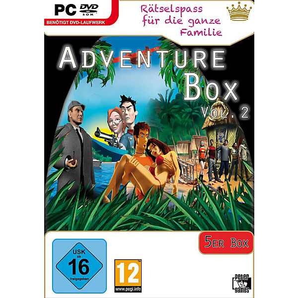 PC Adventure Box Vol. 2 (5er)