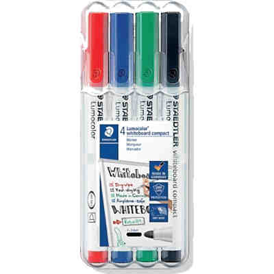 Lumocolor Whiteboard Marker Compact M, 4 Farben