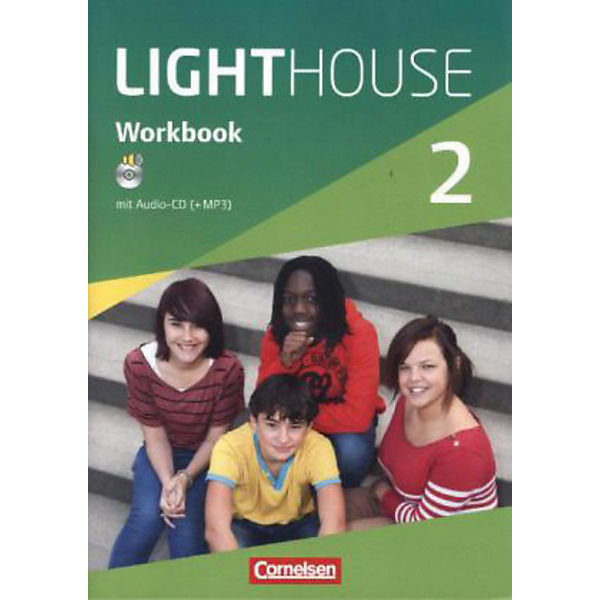 English G Lighthouse, Allgemeine Ausgabe: 6. Schuljahr, Workbook m. Audio-CD