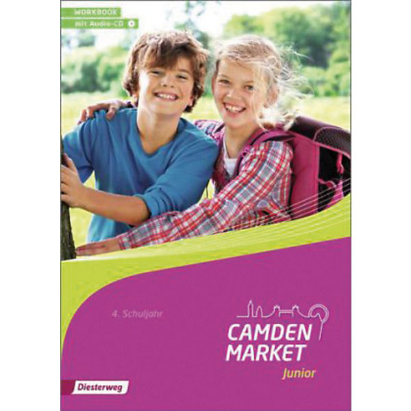 Camden Market Junior: 4. Klasse, Workbook mit Audio-CD