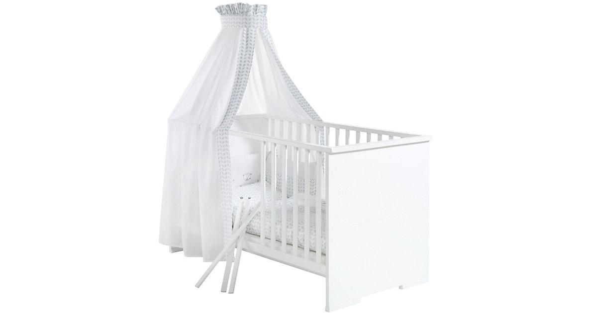 Kinderbett MAXIMO WEIß, weiß, 70 x 140 cm