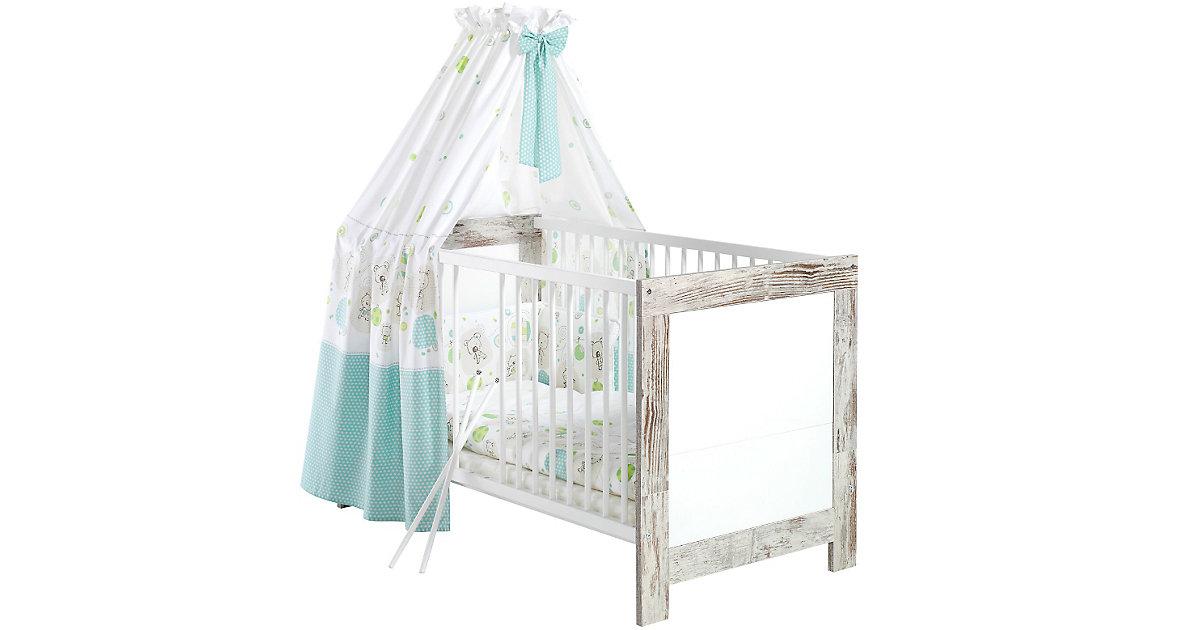 Kinderbett NORDIC CHIC, shabby chic/weiß, 70 x 140 cm