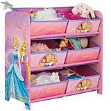 Disney Princess 6-Boxen-Regal