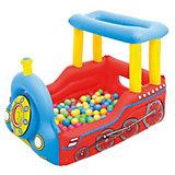 """Детский игровой центр """"Поезд"""" с 50 шариками для игры, Bestway"""
