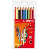 STABILO Color  Набор цветных карандашей 12цв
