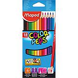Maped Набор цветных карандашей, 12 цв.