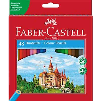 eco buntstifte 48 farben inkl spitzer faber castell. Black Bedroom Furniture Sets. Home Design Ideas