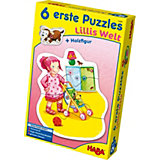 HABA 6 erste Puzzles - Lillis Welt