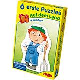 HABA 6 erste Puzzles - Auf dem Land