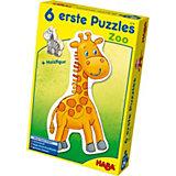 HABA 6 erste Puzzles - Zoo