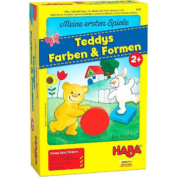 meine ersten spiele teddys farben und formen haba mytoys. Black Bedroom Furniture Sets. Home Design Ideas