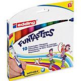 edding FUNTASTICS Fasermaler, 10 Farben
