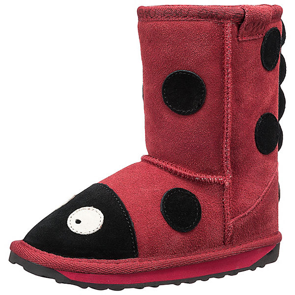 Kinder Winterstiefel LITTLE CREATURES LADY BIRD
