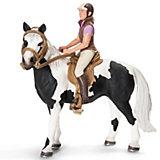 Набор для верховой езды с наездницей (без лошади), Schleich