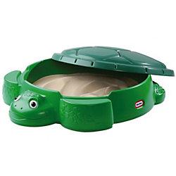 "Песочница ""Черепаха"" с крышкой, Little Tikes"