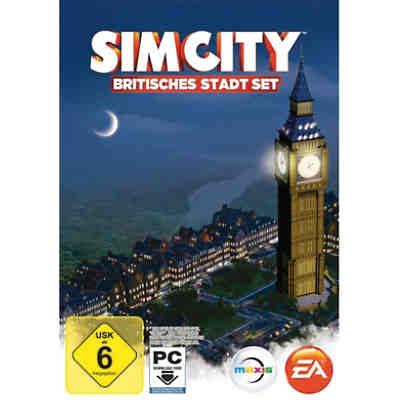 PC Simcity - Britisches Stadt-Set (Code in a Box)