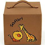 CD-Box Safari für 10 CDs