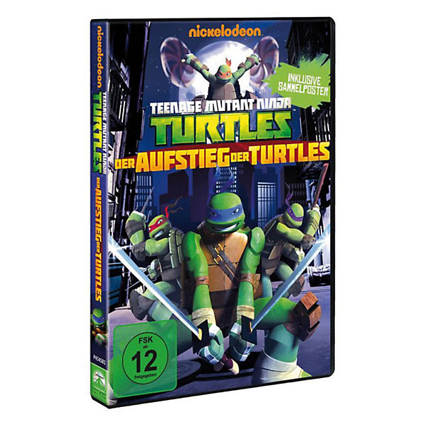 DVD Teenage Mutant Ninja Turtles: Aufstieg der Turtles