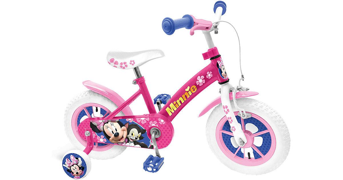 Minnie Mouse Kinderfahrrad, 12 Zoll pink