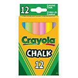 12 мелков с пониженным выделением пыли, Crayola