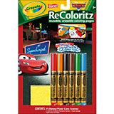 Многоразовая раскраска ReColoritz, Тачки, Crayola