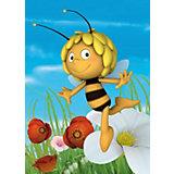Kinderteppich Biene Maja, fleißige Biene, 95 x 133 cm