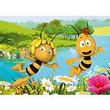 Kinderteppich Biene Maja & Willy, 95 x 133 cm