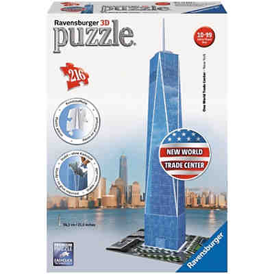 3D Puzzle-Bauwerke Midi One World Trade Center