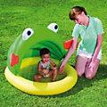Детский бассейн с навесом от солнца