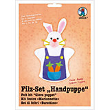 Filz-Set Handpuppe Häschen