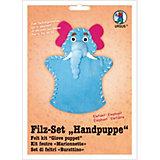 Filz-Set Handpuppe Elefant