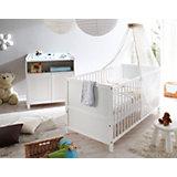 Babyzimmer Croco, 2-tlg. (Wickelkommode, Bett), Kiefer weiß