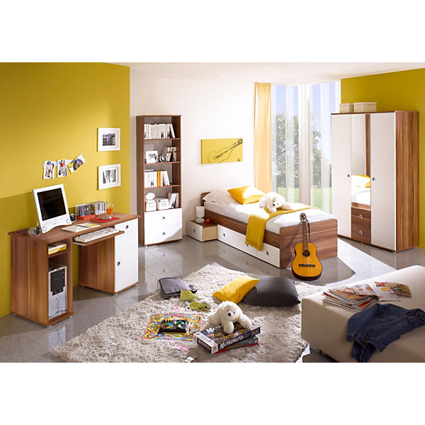 jugendzimmer vicky 4 tlg kleiderschrank standregal. Black Bedroom Furniture Sets. Home Design Ideas