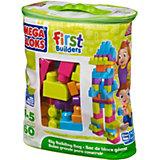 Mega Bloks First Builders Bausteinebeutel Medium, 60 Teile - neue Farben