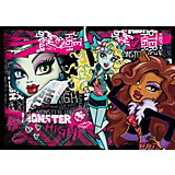Puzzle 104 Teile - Monster High: Beast Friends 4ever