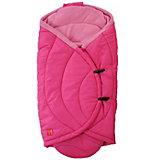 Einschlagdecke CooCoon für Babyschale und Tragetasche, pink