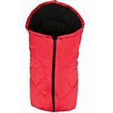 Fußsack Kuschelsäckchen für Babyschale , rot