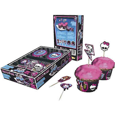 Muffinset Monster High 48-tlg.