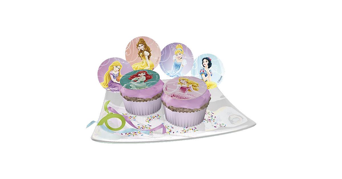 Zucker-Muffinaufleger Disney Princess 12 Stück