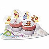 Zucker-Muffinaufleger Winnie Pooh 12 Stück
