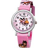 Kinder Armbanduhr Pferd, rosa