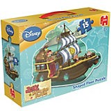 Bodenpuzzle 15 Teile - Jake und die Nimmerland Piraten