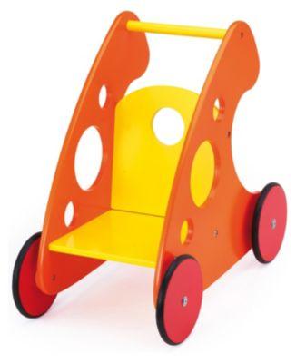 Lauflernwagen orange-gelb