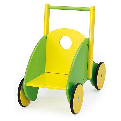 Lauflernwagen gelb-grün