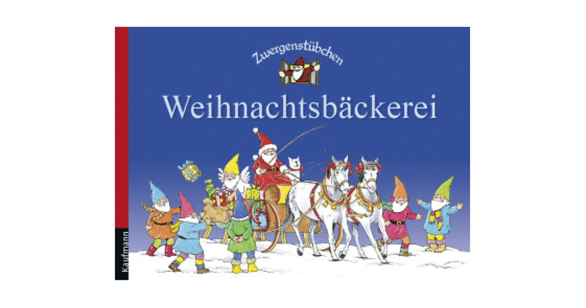 Buch - Zwergenstübchen: Weihnachtsbäckerei