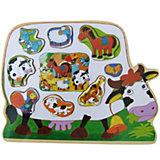 Животные-картинки (корова, слон), в ассортименте