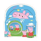 Kindergeschirr Peppa Pig roas Melamin, 3-tlg.