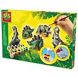 Kreativset Dinosaurier gießen