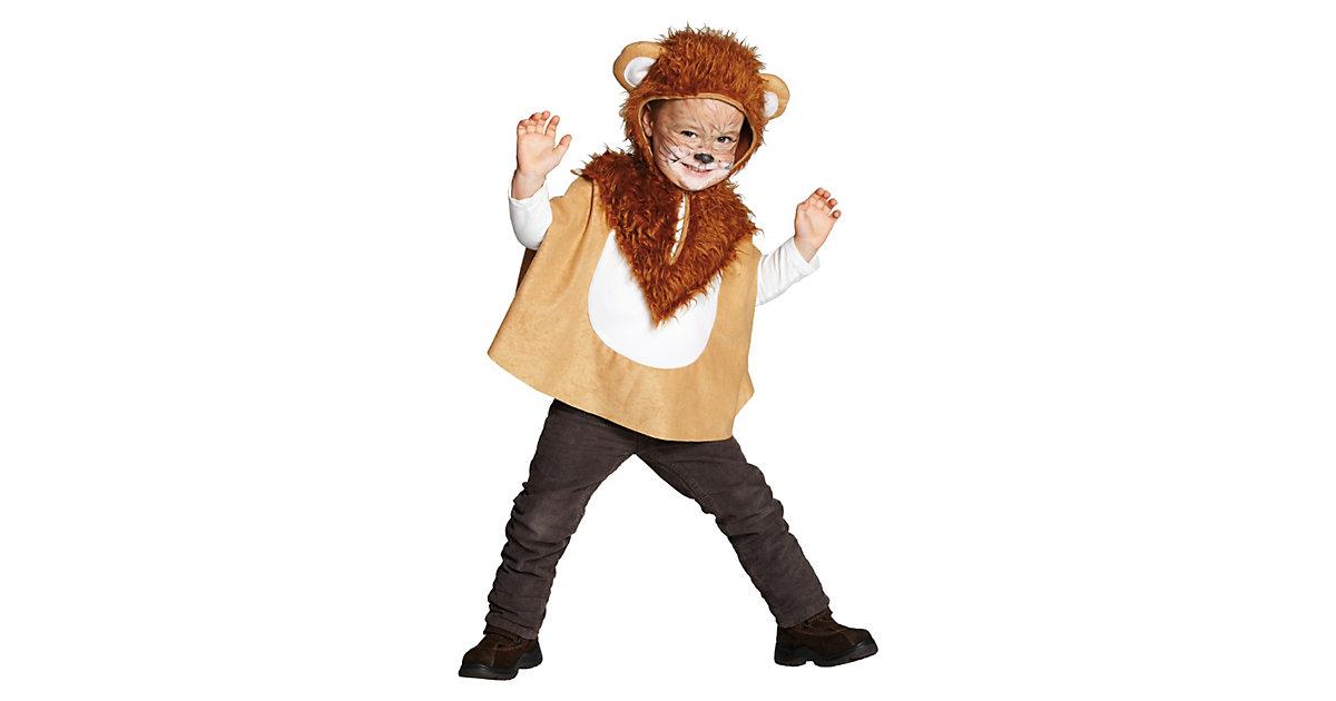 Kostüm Löwen Cape Gr. 92 Jungen Kleinkinder